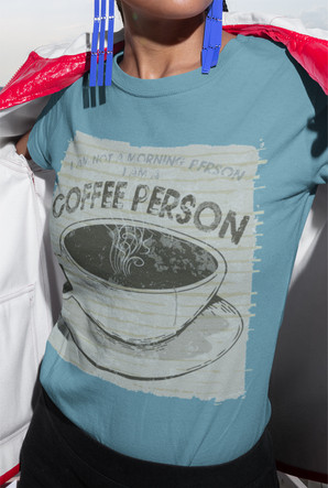 I'm a Coffee Person unisex cotton tee shirt.jpg