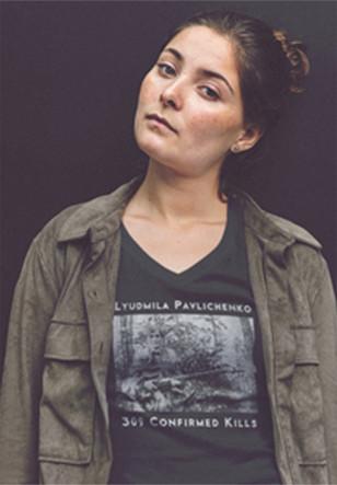 Lyudmila Pavlichenko 309 Confirmed tee