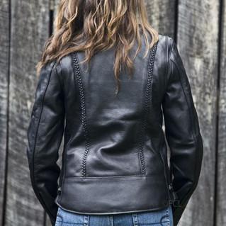 Fox Women's Braided Leather Jacket 2.JPG