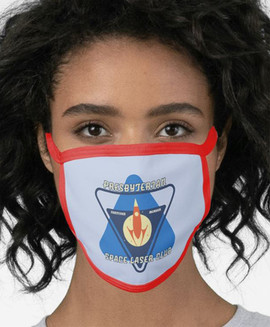 Presbyterian Space Laser Club 2-Layer face mask