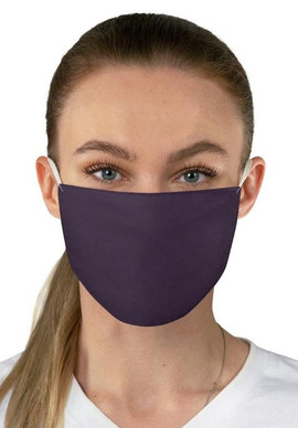 Plum 2-Ply Face Mask