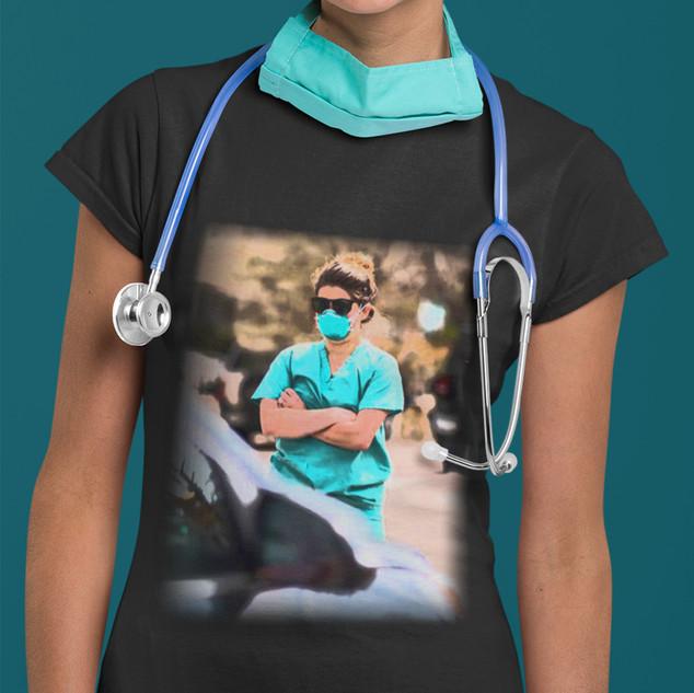 Nurses Are Heroes Every Day tee shirt