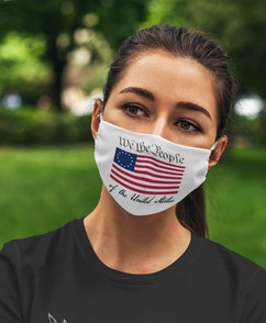 We the People 2-Ply Face Mask