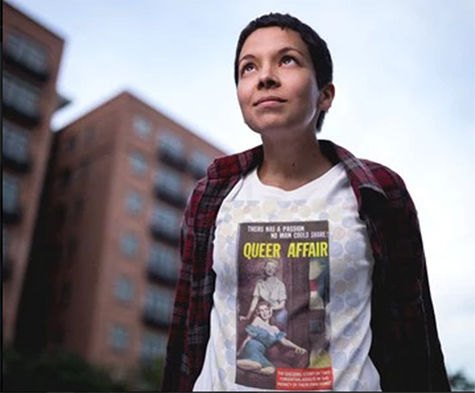 Queer Affair women's cotton tee