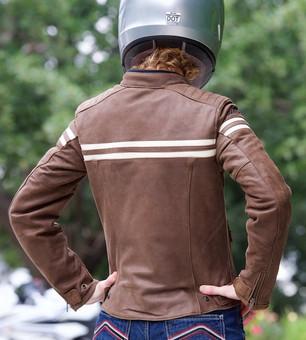 Joe Rocket Classic 92 Women's Leather Jacket (back)