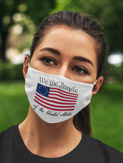 We the People 2-Ply Face Mask 1