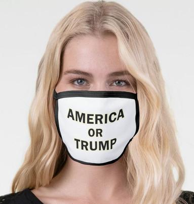 America or Trump mask