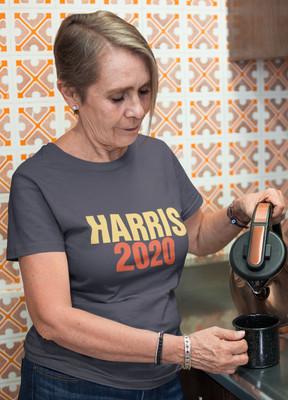 Harris 2020 unisex cotton tee shirt