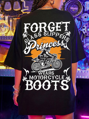 Forget Glass Slippers - Motorcycle Boots - back.jpg