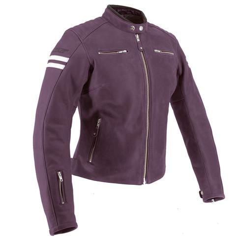 Joe Rocket Classic 92 Women's Leather Jacket in Purple