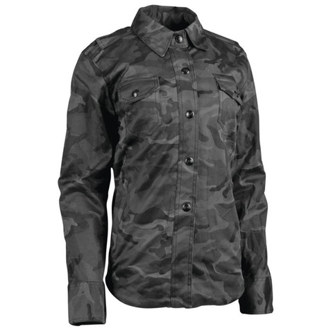 Speed and Strength Women's Speed Society Armored Shirt in camo