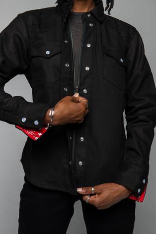 The Riveter Riding Shirt (zipper and button front)