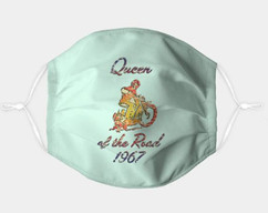 Queen of the Road adjustable face mask- in color.jpg