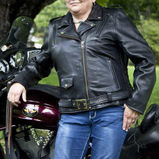 Fox Creek Women's Classic Leather Jacket