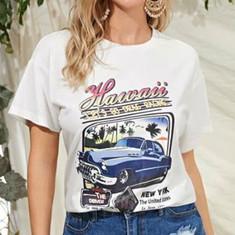 Hawaii Car Drag Racing women's tee.JPG