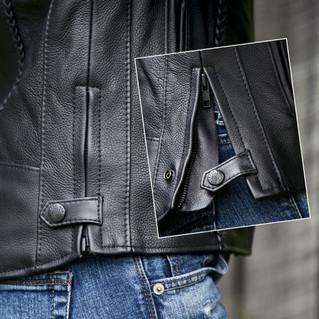 Fox Women's Braided Leather Jacket 3.JPG