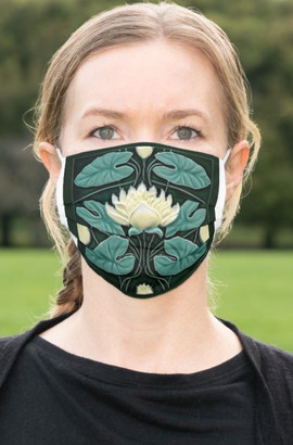 Lotus Flower Cloth Face Mask
