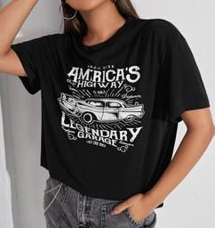 Vintage American Car tee shirt.JPG