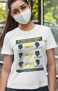 Is This Too Hard unisex jersey t-shirt -