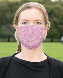 Pink Pattern Cloth Face Mask