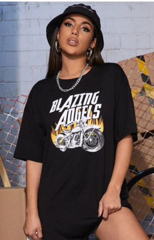 Blazing Angels Motorcycle Tee