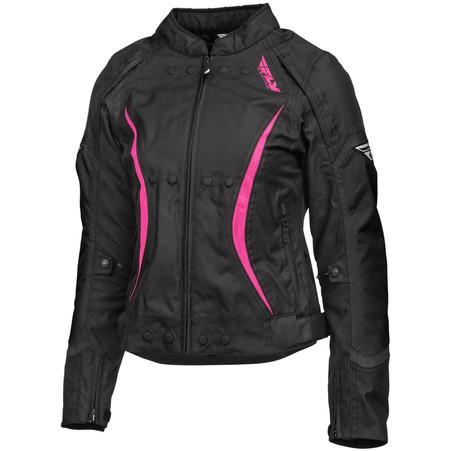 Fly Racing Butane 2021 Women's Jacket Black & Pink