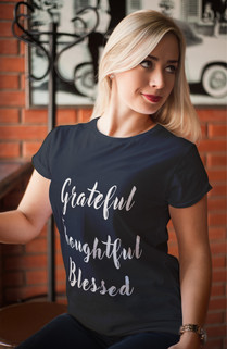 Grateful Thoughtful Blessed tee