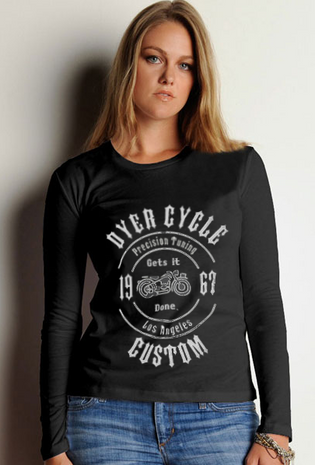 Dyer Cycle Precision long-sleeve tee