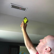 Using Infrared thermometer to check temperature