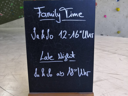 Family Time und Late Night