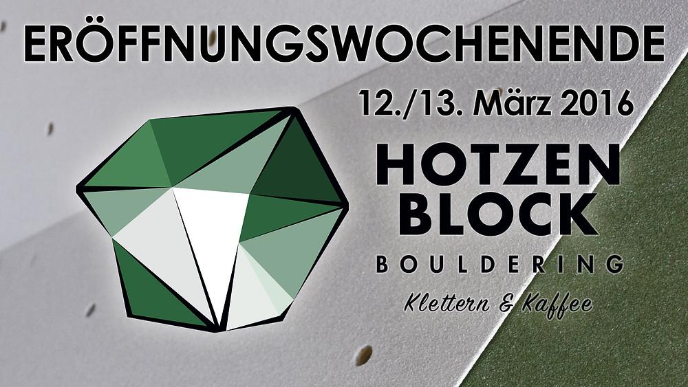 Eröffnung HotzenBlock Bouldering