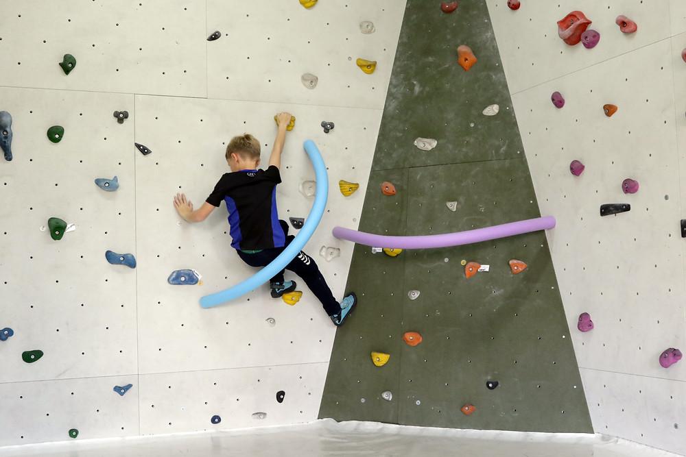 Bouldern im Schulsport