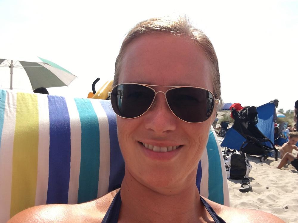 Fru ResGlad på Böda strand