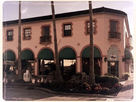 Mysiga Venice på Floridas västkust