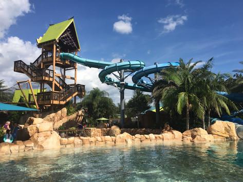 Badlandet Aquatica i Orlando