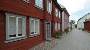 Trästads-promenad och gelato i Eksjö