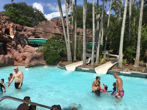 Vattenäventyr på Adventure Island i Tampa, Florida