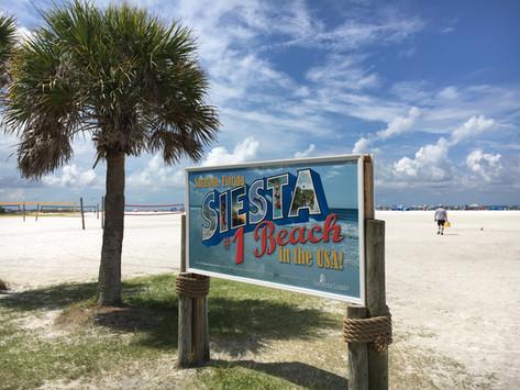 Siesta Key Beach - framröstad till USA:s bästa strand