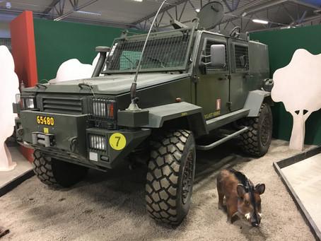 Militära fordon i Strängnäs
