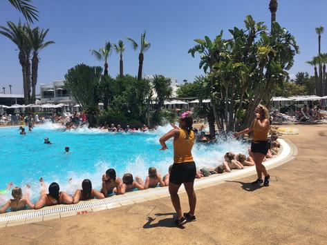 Solsemester på Cypern som även blev motionssemester