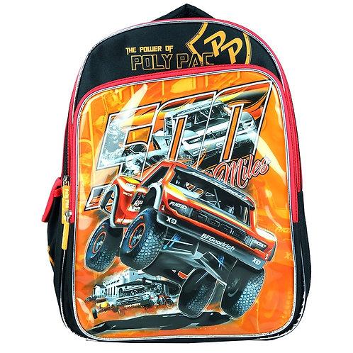 "PS1942-Poly Pac 16"" Boys Trolley School Bag"