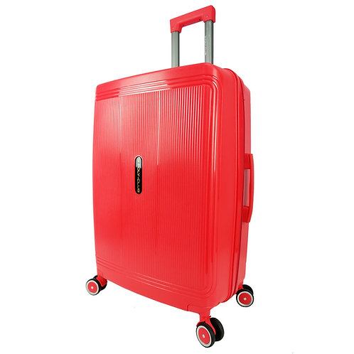 Poly Club Unbreakable PP Hard Case Trolley with Anti-theft Zipper BA9924