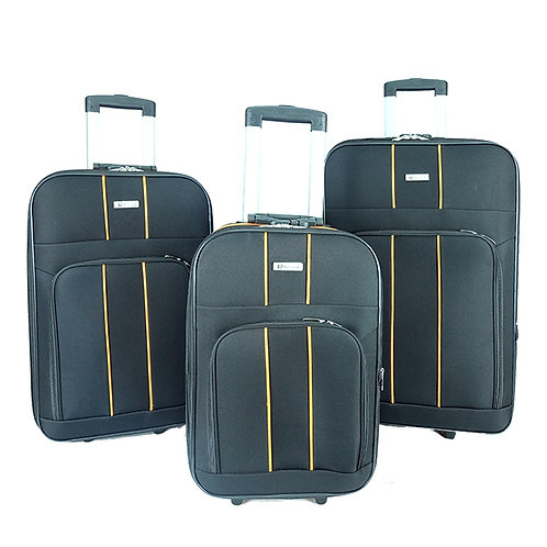 WS-BE1909-Poly Club 2 Wheels Trolley Travel Luggage