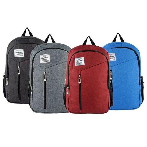"Poly Pac 18"" Student Backpack School Bag - PB1844"