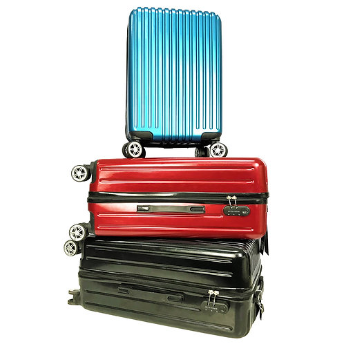 BA9937-Poly-Club Ultra Strong PC Hard Case Trolley Travel Luggage