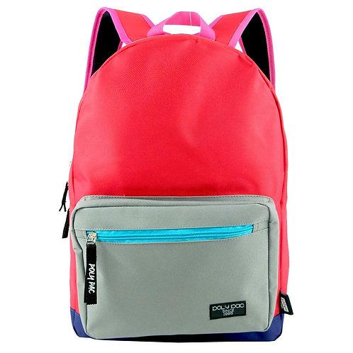 """Poly Pac 18"""" Korean Style Trendy Backpack School Bag PB1955"""
