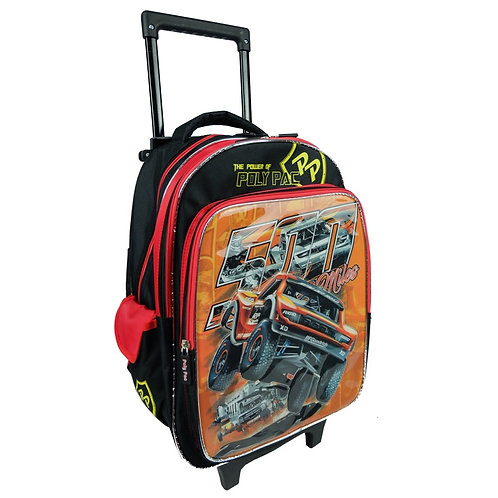 """WS-PS1942-Poly Pac 16"""" Boys Trolley School Bag"""
