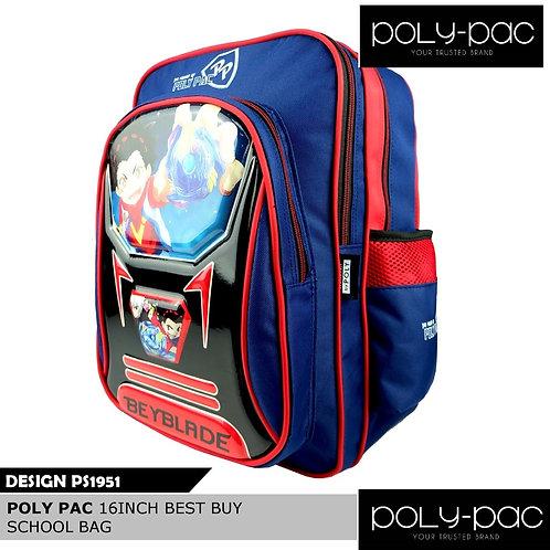 "WS-PS1951-Poly Pac 16"" Best Buy School Bag"