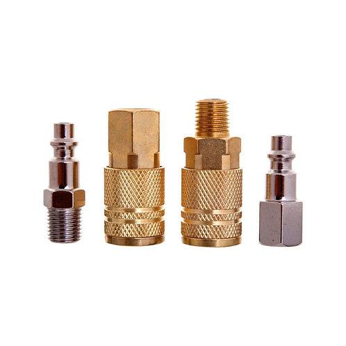 Jgo. De Coples Y Conectores C/Conexion Macho/Hembra 41018