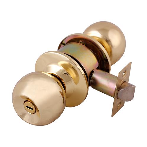 Cerradura Perilla Barza Cilindrica S/Llave Lb 6602
